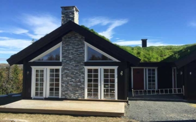 Hytte bygget av FG Bygg