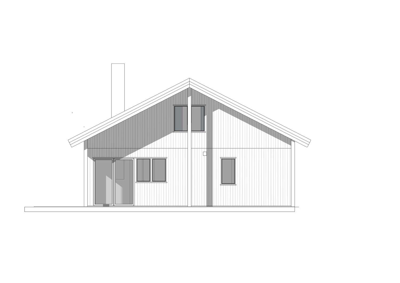 Hyttemodellen Uleberg uten ark